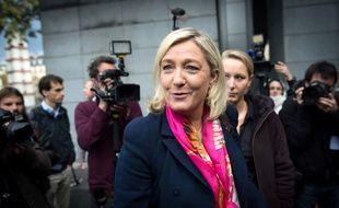Marine Le Pen, présidente du FN, le 15 novembre 2014 à Paris.
