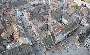 Centre ville de Strasbourg.
