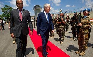 Le chef de la diplomatie française Jean-Marc Ayrault au Liban, le 11 juillet 2016.