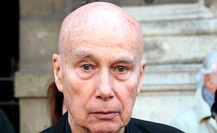 Paris, le 10 avril 2014. Gabriel Matzneff est visé par une enquête préliminaire pour «viols commis sur mineurs».