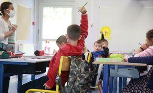 Dans une école maternelle du sud de la France, en septembre. (archives)