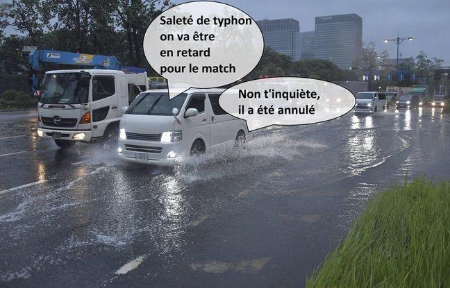 Coupe du monde de rugby: Matchs annulés, reports, dégâts... Les typhons peuvent-ils gâcher la fête ?