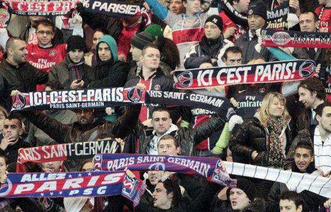 Des supporters parisiens.