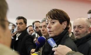 Adeline Hazan,la contrôleure général des lieux de privation de liberté (CGLPL), photographiée en  2013.