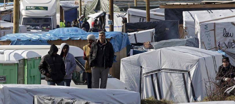 Le démantèlement de la «jungle» de Calais en mars 2016.