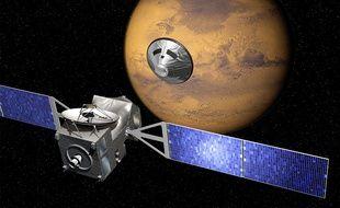 La mission ExoMars va toucher au but ce mercredi soir