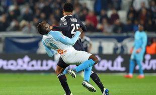Pablo avait donné un coup d'épaule à Balotelli lors de Bordeaux - OM.