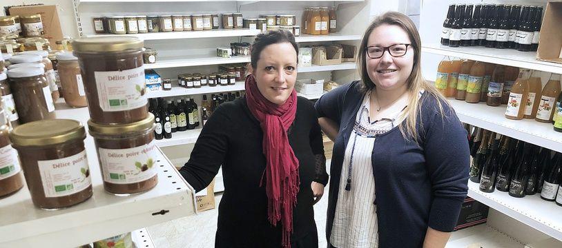 Emmanuelle et Lydia, deux des six coprésidents de l'initiative NiceCoop
