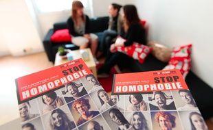 """Marseille le 10 avril 2013 - L'association """" Le refuge """" reçoit des jeunes homosexuels et transexuels qui sont victimes d'homophobie."""
