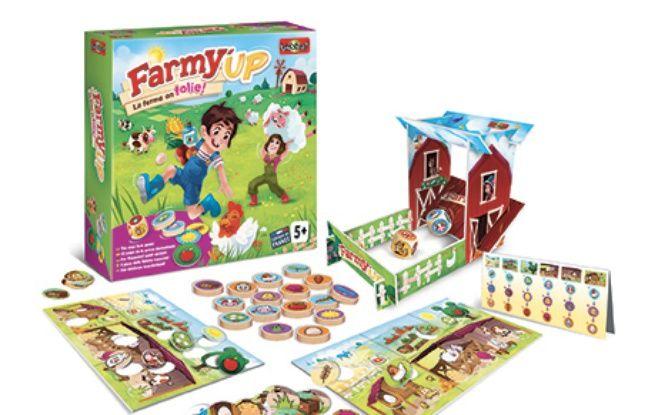Le jeu Farmy'up de l'entreprise Bioviva.
