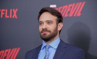 Charlie Cox, l'interprète de Daredevil, le 10 mars 2016, à Los Angeles