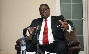Le nouveau président du Malawi, Peter Mutharika, le 24 mai 2014 à Blantyre