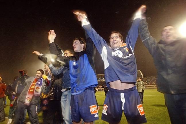 Les Dijonnais heureux de Rudi Garcia en 2004