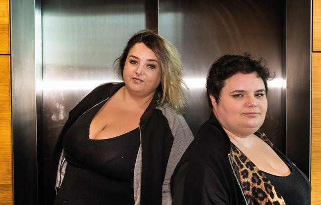 Daria Marx et Eva Perez, co-auteures de Gros n'est pas un gros mot et fondatrice du collectif Gras politique qui dénonce la grossophobie.