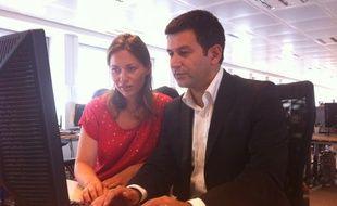 Yoanna Sultan-R'bibo et Mickaël Guedj, auteurs du livre «11 Septembre Paris, 14h46»