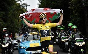 Geraint Thomas a remporté son premier Tour de France