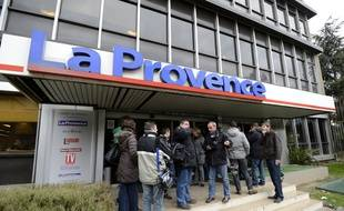 Le siège de La Provence.