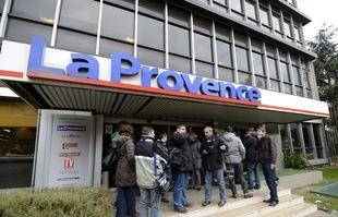 Le siège du journal «La Provence», à Marseille, le 20 décembre 2012.