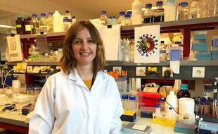 Sandrine Bélouzard, chercheuse au CNRS et à l'Institut Pasteur de Lille.