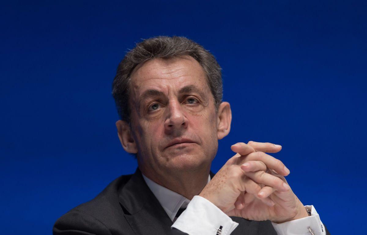 Nicolas Sarkozy, président LR, le 2 juillet à la Mutualité  à Paris. – WITT/SIPA.