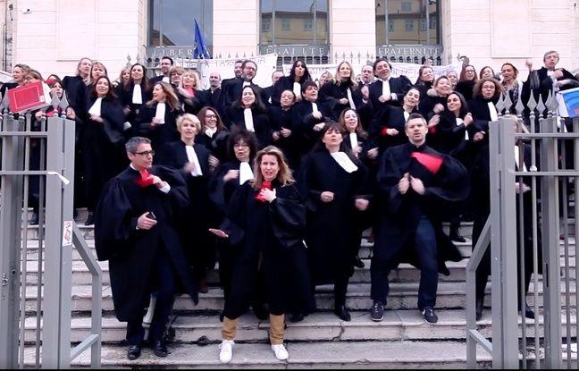 VIDEO. Nice: Les avocats tournent un clip pour protester contre «une justice au rabais»