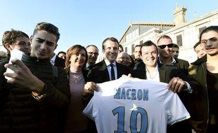 Emmanuel Macron a martelé son amour pour l'OM pendant la campagne.