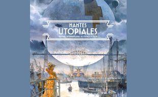 L'affiche de l'édition 2020 des Utopiales.