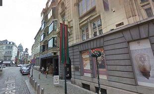 Musée juif de Bruxelles, capture Google Street View.