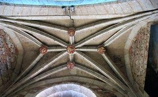 La voûte d'une chapelle de la cathédrale d'Eauze.
