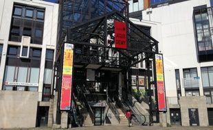 La médiathèque centrale Jacques-Demy à Nantes, le 31 août 2018.