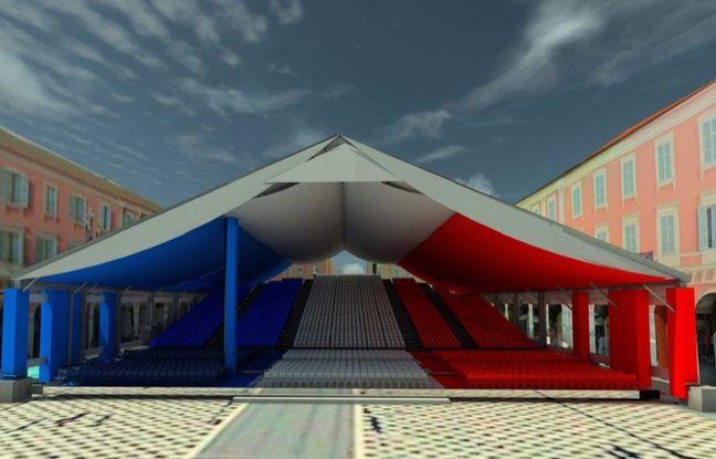 Les commémorations du 14 juillet auront lieu, en partie, depuis la place Masséna.