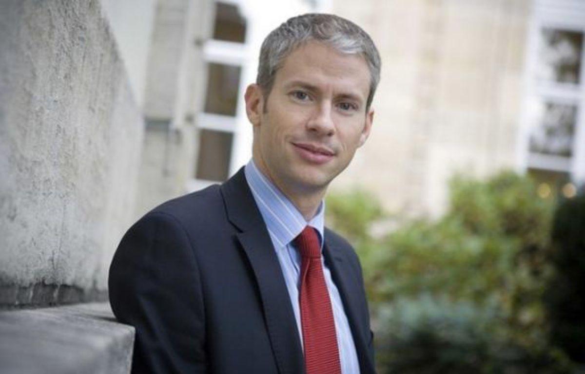 Franck Riester, le directeur de la campagne de l'UMP pour les élections européennes. – VALINCO/SIPA
