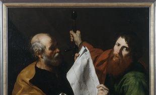 Jusepe de Ribera, Saint Pierre et saint Paul. Huile sur toile
