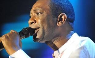 Youssou N'Dour, à Montreux en juillet 2010
