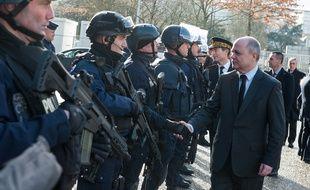 Bruno Le Roux ministre de l'Intérieur le 14 janvier.