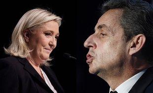 Marine Le Pen/Nicolas Sarkozy