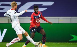 Jonathan Bamba a égalisé pour Lille