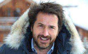 Edouard Baer au Festival de L'Alpe D'Huez, le 16 janvier.