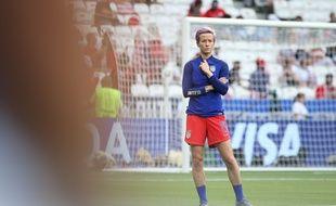 Megan Rapinoe avec les Etats-Unis avant la finale de la Coupe du monde.