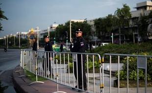 La police thaïlandaise à Bangkok (image d'illustration).