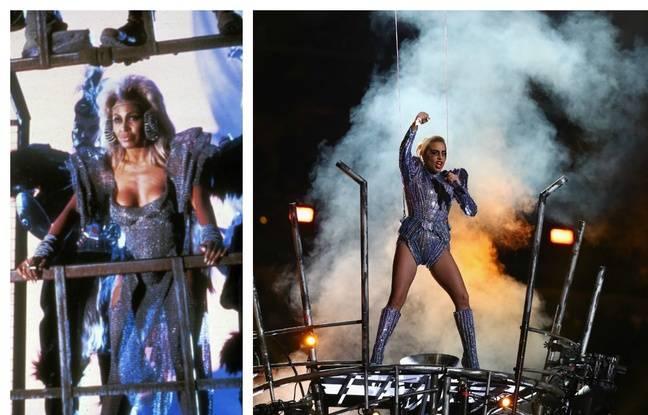 Tina Turner dans «Mad Max 3» vs Lady Gaga au 51e Super Bowl.