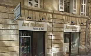Le bar à chicha attaqué rue des Argentiers à Bordeaux.