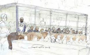 Sur les 27 personnes qui comparaissent à la cour d'assises des mineurs de Paris pour le rapt, la séquestration et la mort d'Ilan Halimi en 2006, dix-huit sont détenues, dont le chef du gang, Youssouf Fofana.