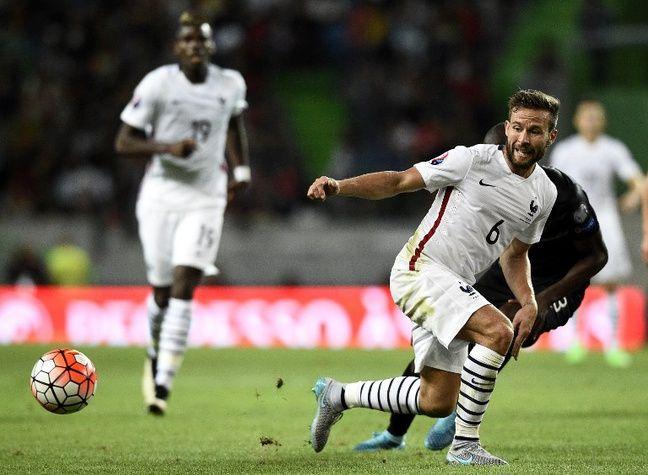 Yohan Cabaye lors de Portugal-France, le 4 septembre 2015.