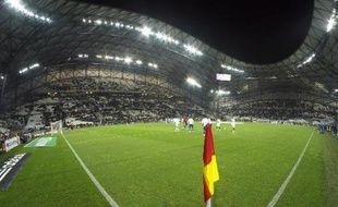 Vue du stade Vélodrome de Marseille, le 7 janvier 2015