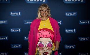 Laurence Boccolini à la conférence de rentrée d'Europe 1, en septembre 2018.