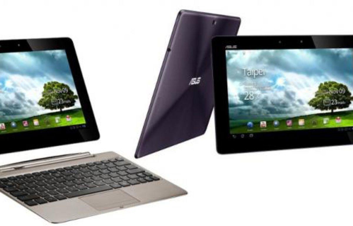 La tablette Asus Transformer Prime et son dock. – DR