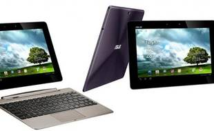La tablette Asus Transformer Prime et son dock.