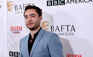 Ed Westwick à Los Angeles.