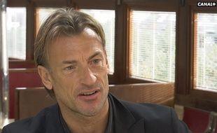 L'ancien entraîneur du Losc Hervé Renard sur Canal+, le  7 décembre 2015.